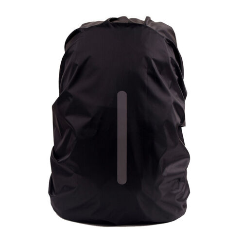 Backpack Rain Cover Waterproof Bag Reflective Strip Covers For Hiking SM