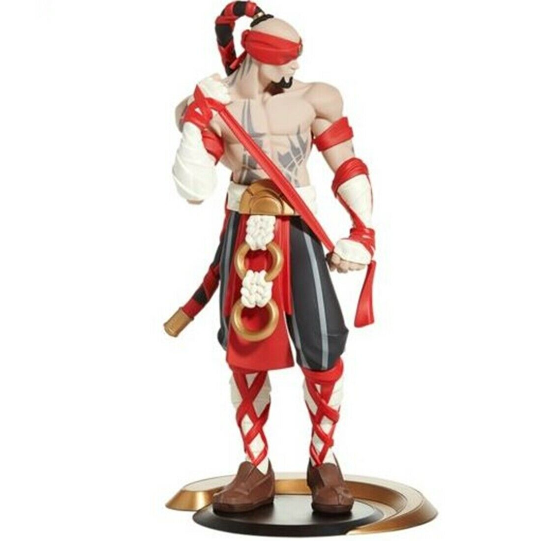 League Of Legends Lee Sin Unlocked Statue LOL Collectible nuovo Official Genuine