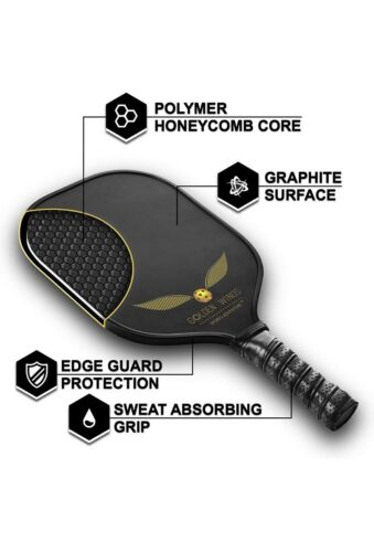 Golden wings pickleball Paddle Inc cover