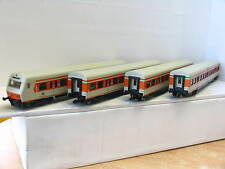 Märklin H0 4er Wagenset 4183/4184/4185 DB stromführende Kupplungen OVP (N8592)