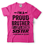 miniature 21 - Gift For Brother Funny Birthday Gift For Brother Proud Brother Funny T shirt