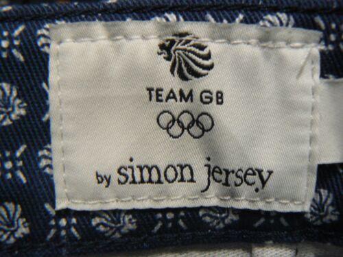 Team GB Pantaloncini RIO olypmic 2016 Da Uomo Taglia 28 30 40 42 Simon JERSEY NUOVA TAG