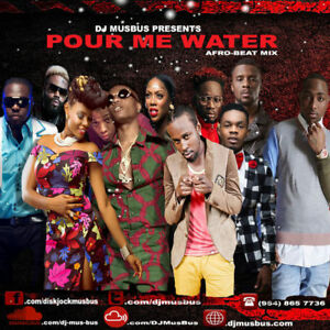 Details about Welcome to Afrobeats Pour Me Water Mix Davido Wizkid  Patoranking