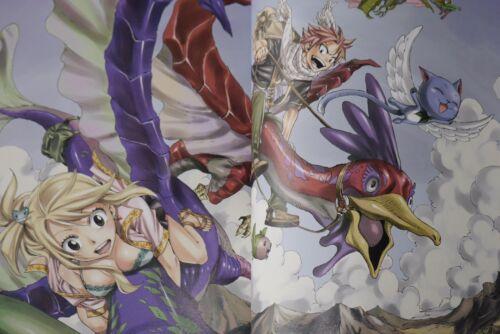 "JAPAN Hiro Mashima Art book Harvest /""Fairy Tail Illustrations 2/"""
