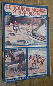 Le Tour du Monde de Deux Enfants, fascicule 21 : Retour à la mer