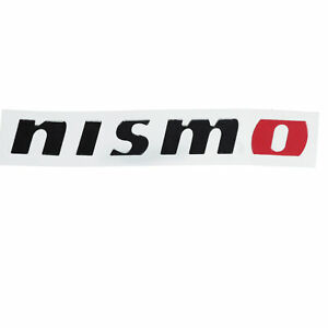 one new oem nissan nismo logo decal sticker altima maxima 350z 370z genuine ebay details about one new oem nissan nismo logo decal sticker altima maxima 350z 370z genuine