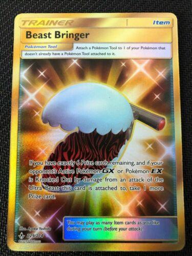 SM UNBROKEN BONDS BEAST BRINGER 229//214 SECRET RARE Pokemon