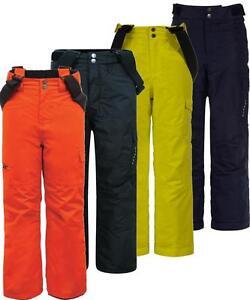 Dare 2b Take On Ski Pants Salopette Kids Girls Boys Insulated Waterproof /> Black