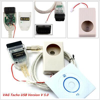 Vagtacho USB Version V 5.0 VAG Tacho For NEC MCU 24C32 or 24C64 for Audi VW LL