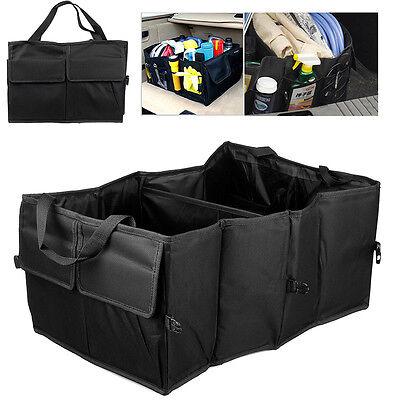 Foldable Car Auto Back Rear Trunk Seat Big Storage Bag Pocket Cage Organizer New