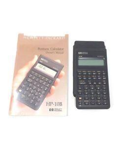 hp hewlett packard 10b business financial calculator rare vintage ebay rh ebay com hewlett packard 10b business calculator user guide Texas Instruments BA II Plus