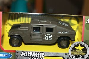 HUMMER-H-1-MILITARE-SCALA-1-38-WELLY