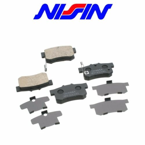 For Rear Nissin Brake Pad Set 2-wheel Coupe Sedan Acura Integra Legend CL