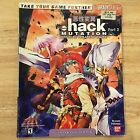 Brady Games Dot Hack Mutation .hack Playstation 2 PS2 Official Strategy Guide
