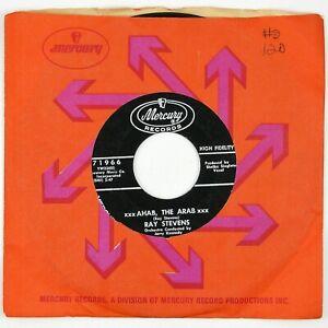 RAY-STEVENS-Ahab-The-Arab-It-039-s-Been-So-Long-7IN-1962-ROCK-NOVELTY-VG