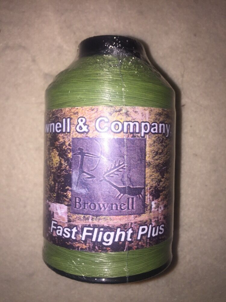 Brownell Fast Flight Plus Bow String Material  1 4 Pound Sage