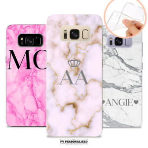 PERSONALISED-NAME-MARBLE-PINK-SOFT-CASE-COVER-FOR-SAMSUNG-GALAXY-S7-S8-S9-S10
