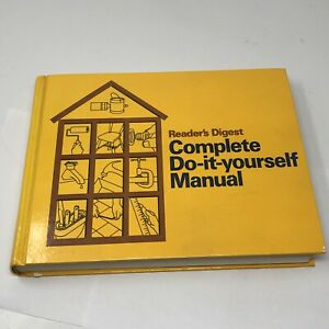 Vintage 1973 Readers Digest Complete Do-It-Yourself Manual ...