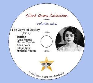 DVD-034-The-Gown-of-Destiny-034-1917-starring-Alma-Rubens-Classic-Silent-Drama
