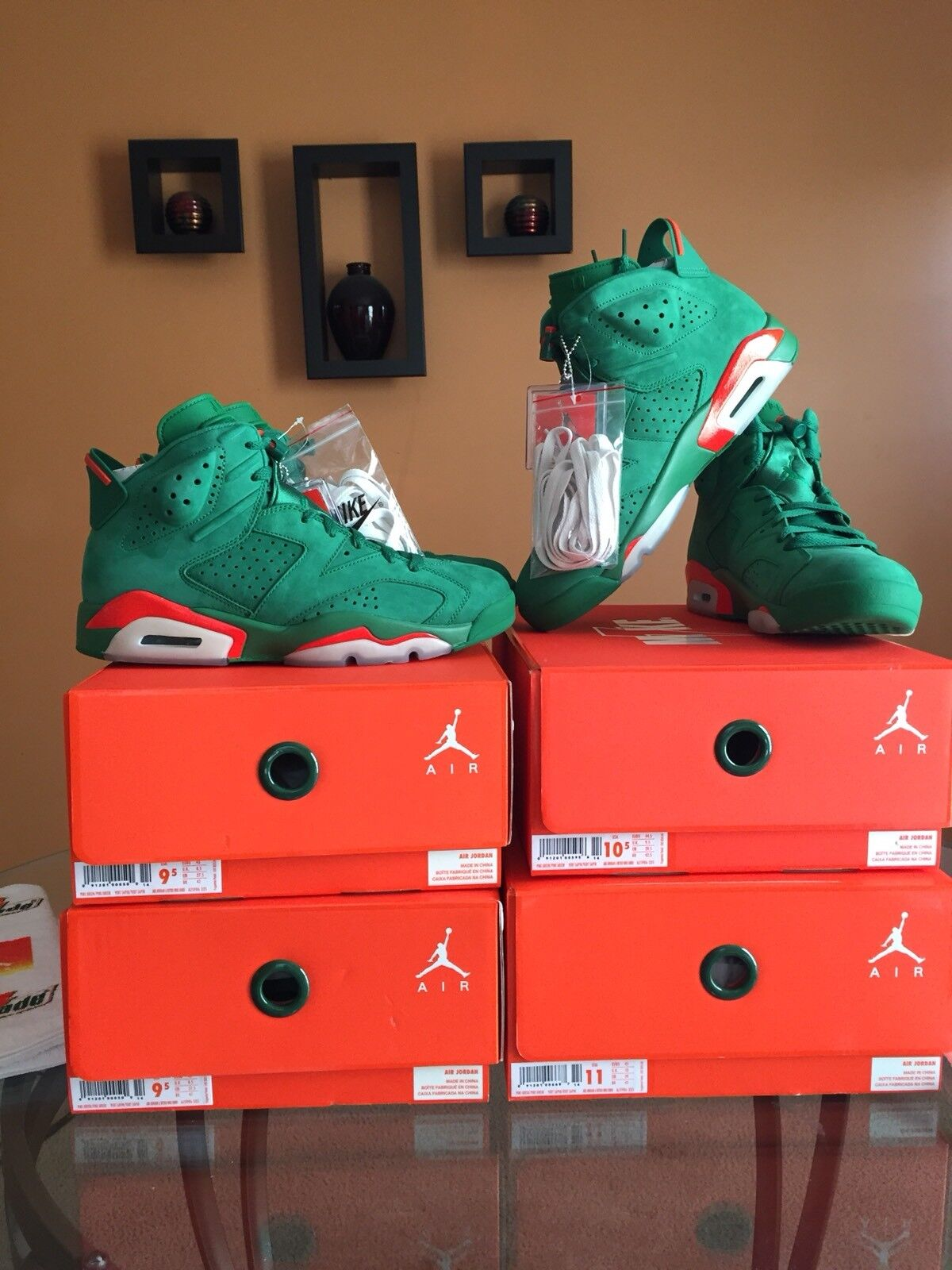 2d9d7d2320 Air Jordan 6 Green Gatorade AJ5986-335 nosyfr1165-Athletic Shoes ...