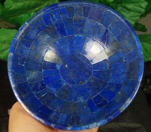 Art Sculptures Dutiful Lapislazuli Handgefertigt Schüssel 15.2cm Breit Wight 750 Gramm Aus Afghanistan Fragrant Aroma