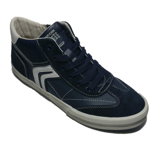 Geox Scarpe Sneakers Ragazzo Blu J742cc 0fu22 c0661 37