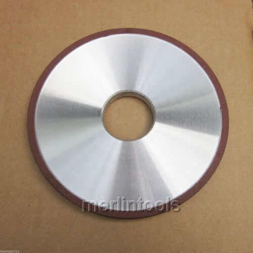 100 x 25mm Diamond Resin Straight Grinding Wheel 320G
