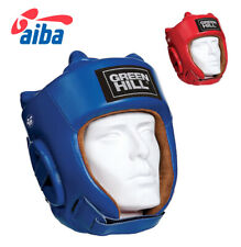 Sting AIBA Boxing Red Headguard Official GB /& England Boxing Approved