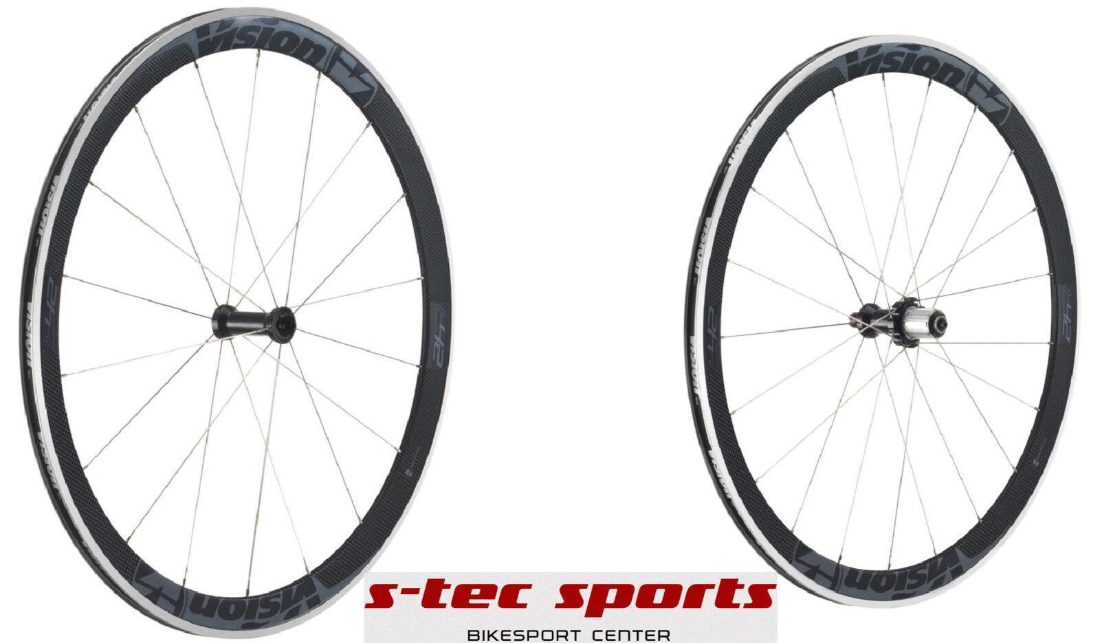 Vision Trimax T 42 grey , Laufradsatz  , Wheelset , Rennrad  online shop