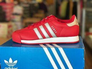 samoa adidas all red