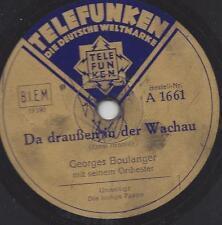 Georges Boulanger Orchester : Da draußen in der Wachau ( Ernst Arnold )