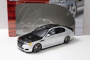 1-18-Maisto-CUSTOM-SHOP-BMW-M5-E60-Sedan-white-SP-NEW-bei-PREMIUM-MODELCARS