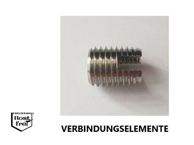 150 Stück M3-M8 Edelstahl Gewindeeinsätze Gewindereparatur Werkzeug Set