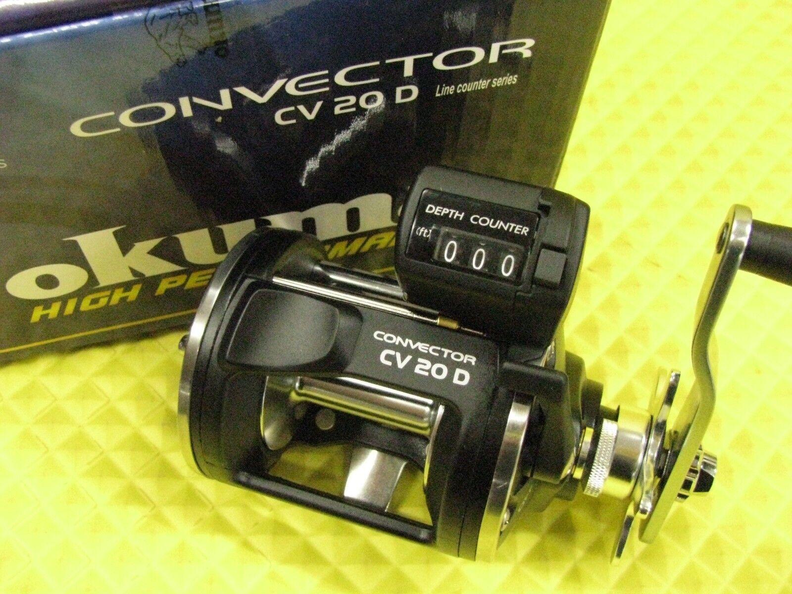 Okuma Convector CV 20D Line Counter Trolling Reel   best service