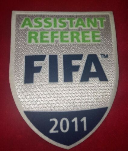 2011 FIFA Assistant referee badgepatch OFFICIAL