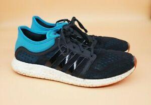 Details about Men's Adidas ClimaChill Rocket Boost Running Shoes Black/Blue Size US 11