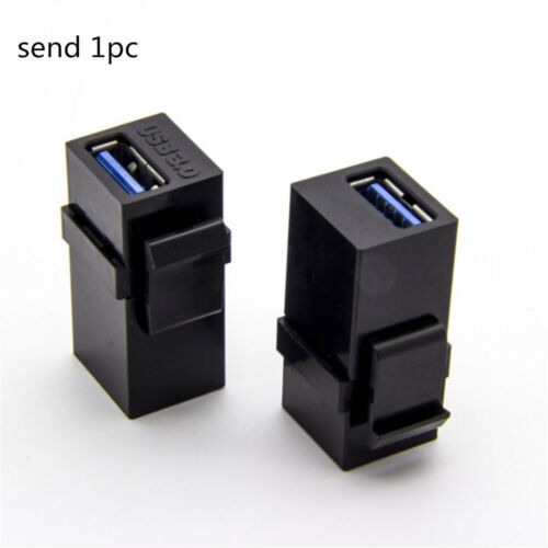 USB 3.0 Keystone USB Inserts Adapters Cable Interface Female to Female Coupler