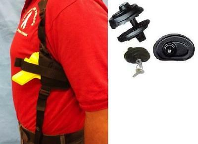 W// Free Trigger Lock 203 R Shoulder Gun Holster for Right Hand Draw CZ 92
