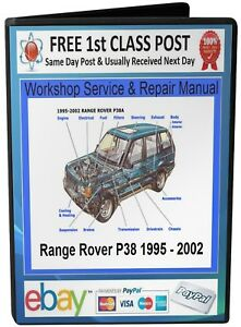 Range-Rover-P38-Service-amp-Repair-Workshop-Manual-1995-On-CD