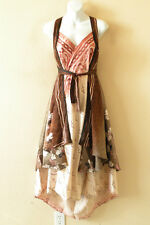 "E482 Vintage Silk Magic 36"" Kariza Style Womens Pareo Wrap Skirt Tube Dress DVD"