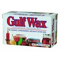 Gulfwax Paraffin Wax 1 Pound, New, Free Shipping
