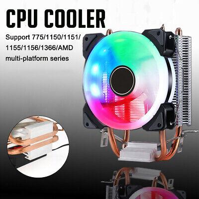 NEW AMD FX Six-Core LGA 1150//1151//1156 Processor Quiet Cooler CPU Heatsink Fan