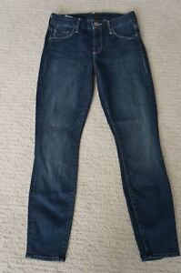 W 26 Mother délavage foncé Jean slim Looker New 25 délavage Denim skinny L 6qSwxvP