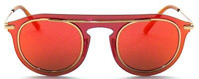 Kleidung & Accessoires Sonnenbrillen Kompetent Dolce&gabbana Sonnenbrille Dg2169 02/6q Gr48 Aussteller Sg337 T70