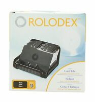 Rolodex Card File Mesh Open Business Card File 125-cards 2-1/4... Free Shipping