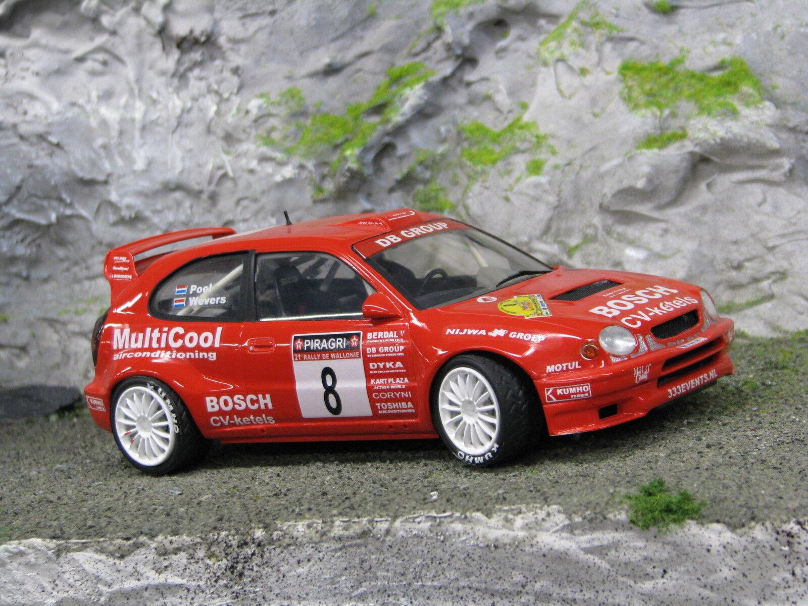 QSP Toyota Corolla WRC 1998 1 24 Wevers   Poel 21e Rally de Wallonie 2004