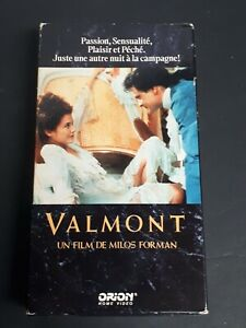 Valmont-VHS-1986-Reno-Productions-French-Version-A-Milos-Forman-Film