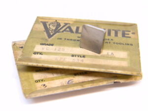 NEW-SURPLUS-6PCS-VALENITE-SPE-534-GRADE-VC125-CARBIDE-INSERTS