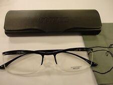 Oliver Peoples Damion BK Rx Eyewear 53-17-140 Glossy Black Frame, New!
