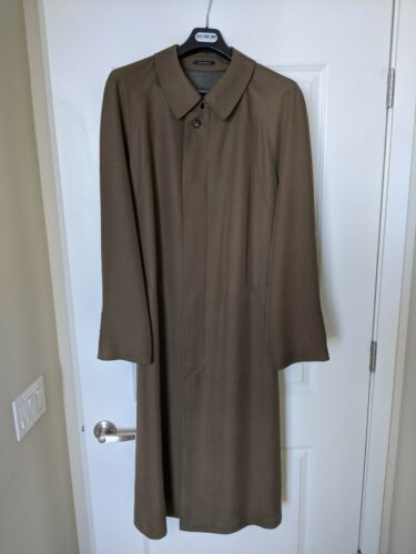 Sanyo Men's Trench Coat Raincoat Overcoat Size R-4